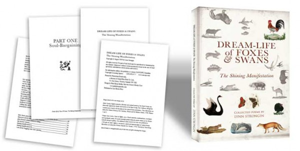Book design and layout for Foxes and Swans